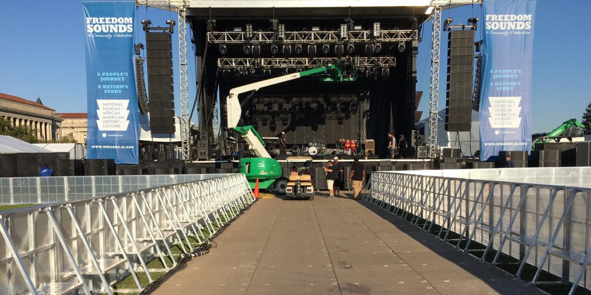Crowd Control Barriers and Summer Concerts 4