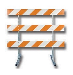 What Are Barricades Used For: Type 3 Barricade
