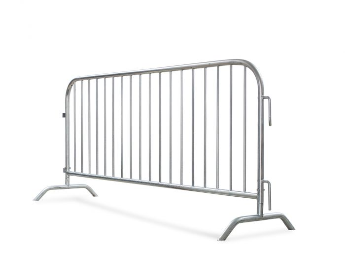 Hot-Dipped Galvanized Metal Barriers