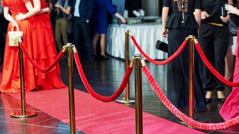 stanchions for red carpet events